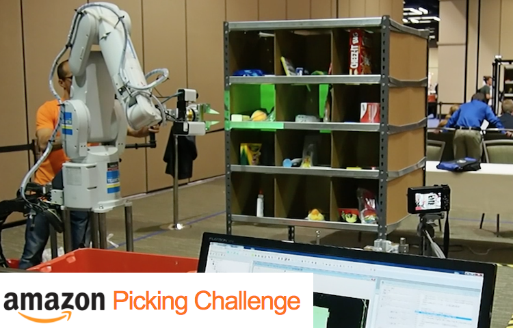 """Technical cooperation to the world top ranker of """"Amazon Picking Challenge"""" 「Amazon Picking Challenge」世界トップランカーへの技術支援"""