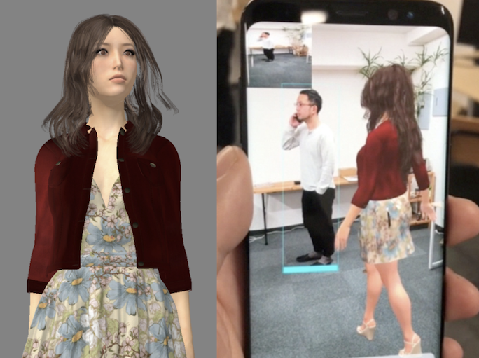 クーガー、視覚と聴覚を持つ バーチャルヒューマンエージェントを開発 KDDIの「バーチャルキャラクター × xR」プロジェクトにも技術提供
