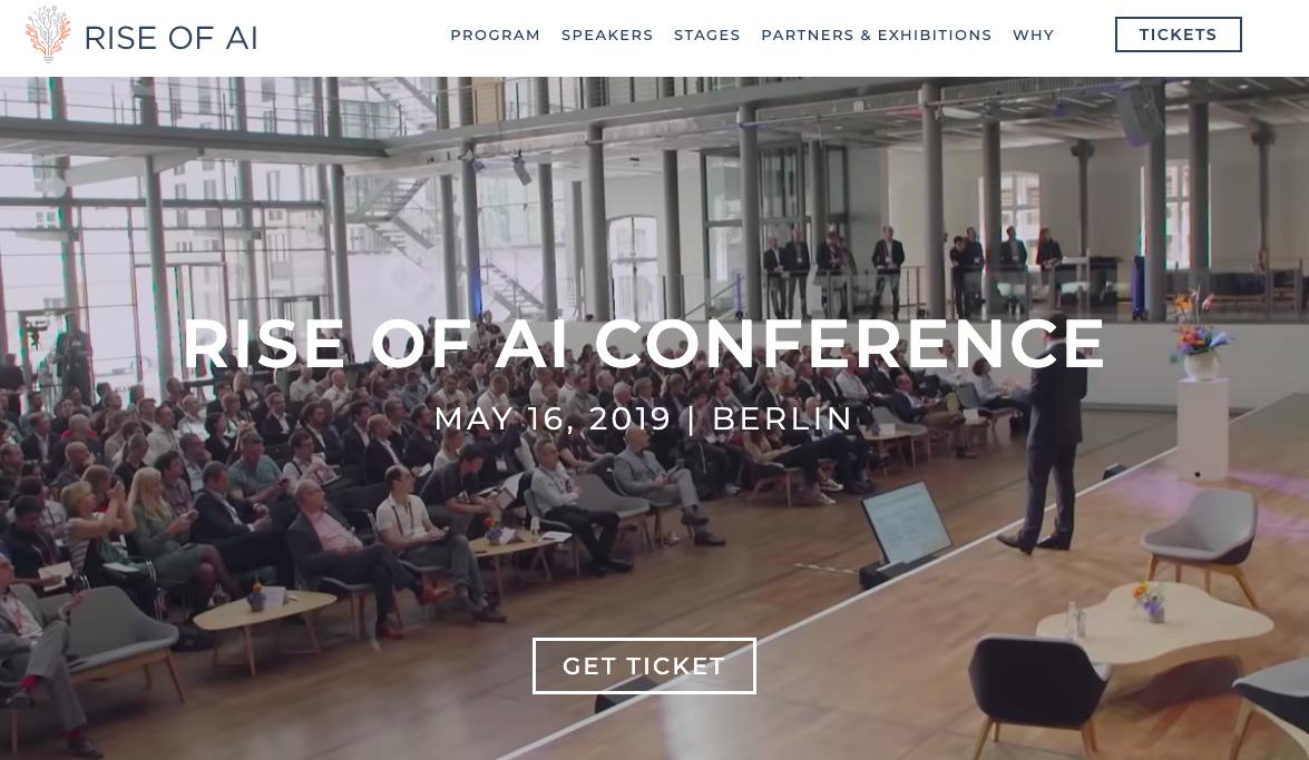 ヨーロッパで最も影響力のあるAIカンファレンスの一つである『Rise of AI』にクーガーCEO 石井敦が招待されました!_明日5/16開催@ベルリン