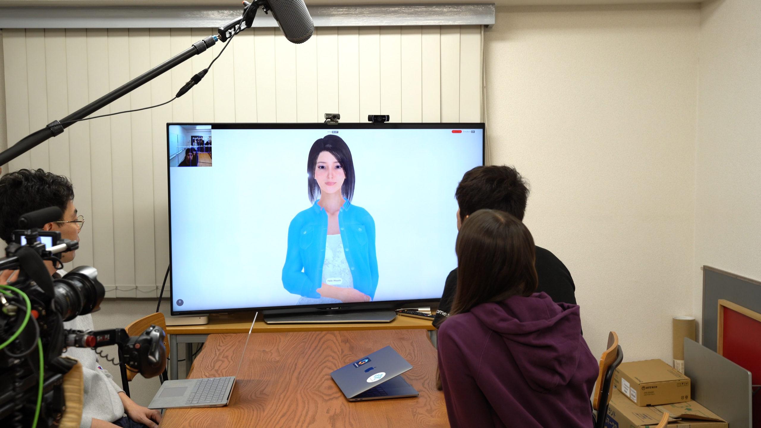 """【デモ動画公開】バーチャルヒューマンエージェントと雑談 Chat with Virtual Human """"Rachel"""""""