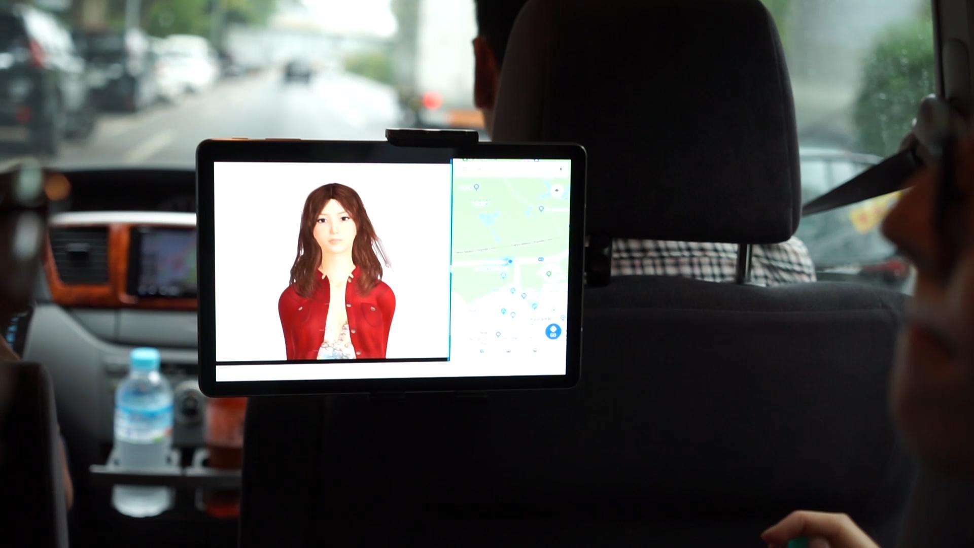 デモ動画を公開しました:バーチャルヒューマンエージェントと共にドライブ If driving with Virtual Human Agent…